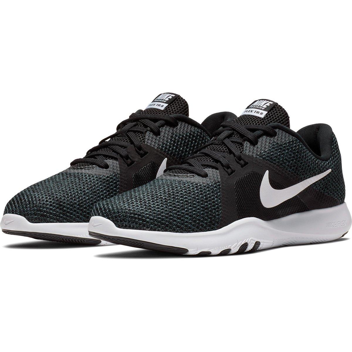 Tênis Nike Flex Trainer 8 Feminino - Preto e Branco - Compre Agora ... 61b541146ee7e