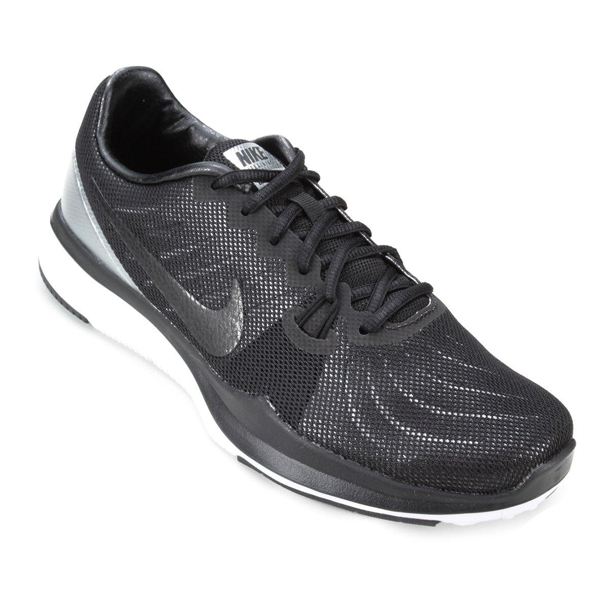 1e2efe32ddb8f Tênis Nike In-Season TR 7 PRM Feminino - Preto e Branco   Zattini