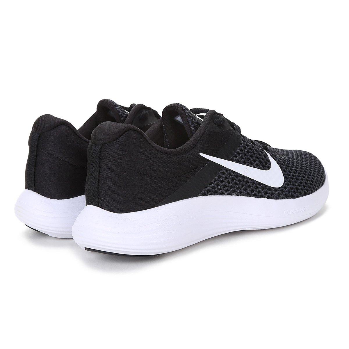 Tênis Nike Lunarconverge 2 Feminino - Preto e Branco