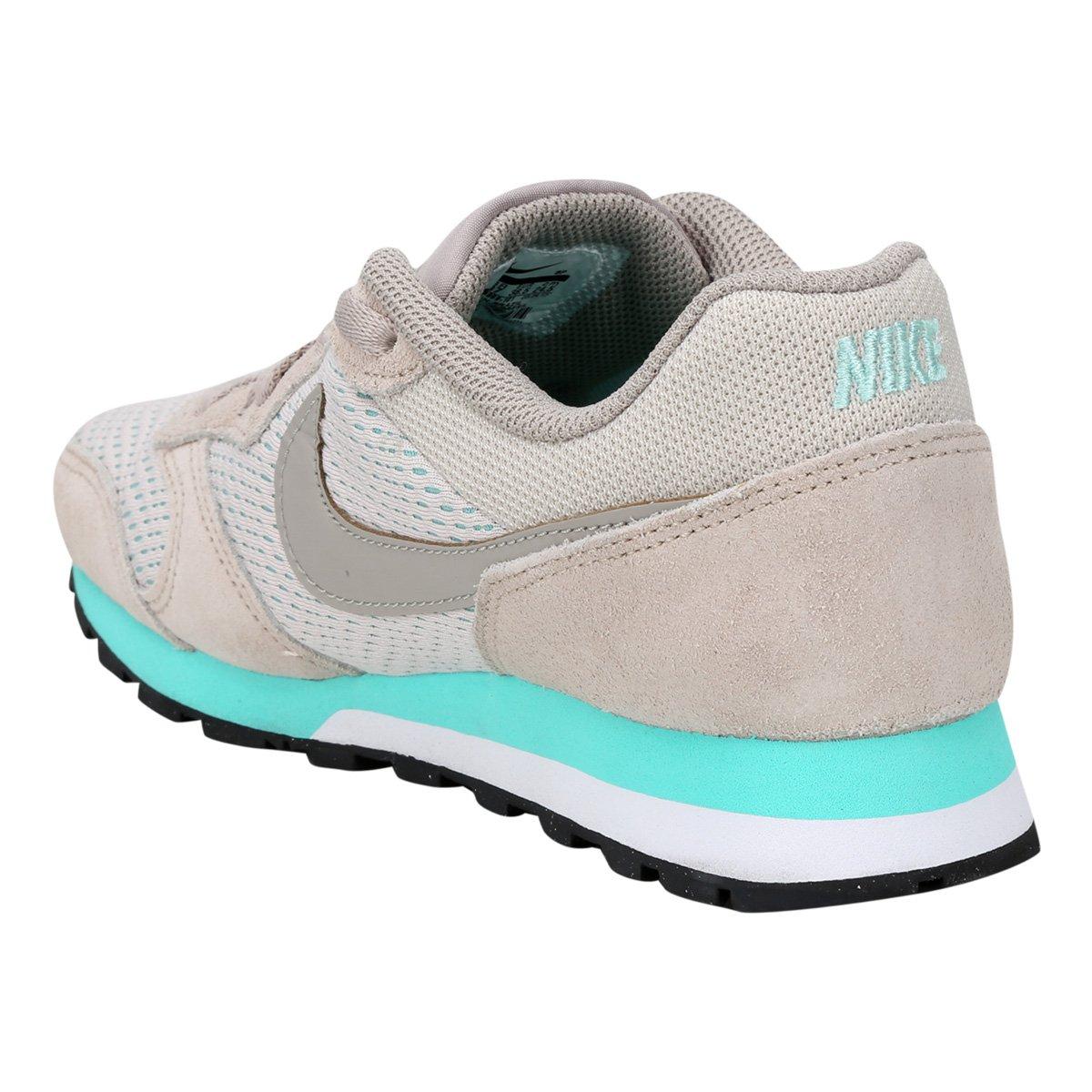... Tênis Nike Md Runner 2 Feminino - Cinza e Azul Claro - Compre Agora . f2012353969f4