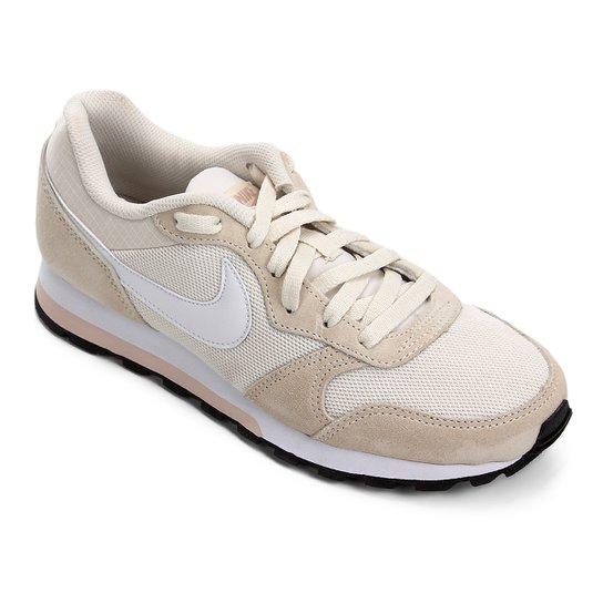Tênis Nike Md Runner 2 Feminino - Mescla Claro