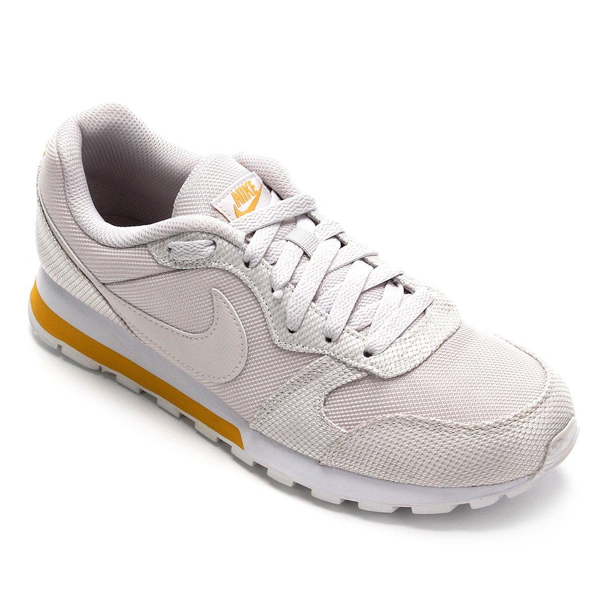 suizo huella dactilar más  Tênis Nike Md Runner 2 SE Feminino - Off White | Zattini