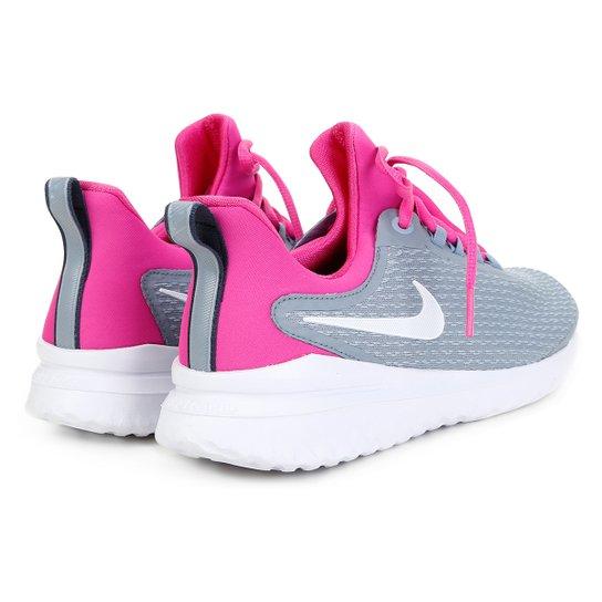 Tênis Nike Renew Rival Feminino Cinza E Pink