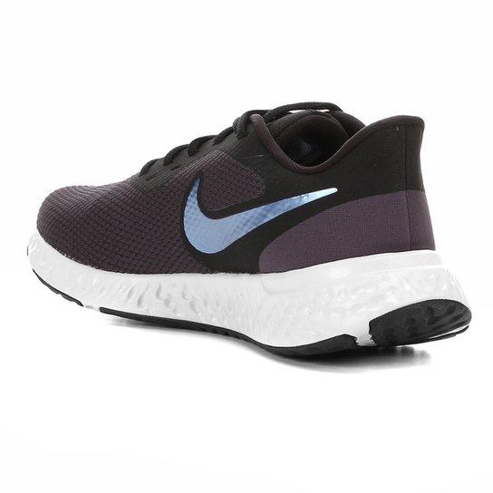Benigno Comercio declarar  Tênis Nike Revolution 5 Masculino - Azul e Cinza   Zattini