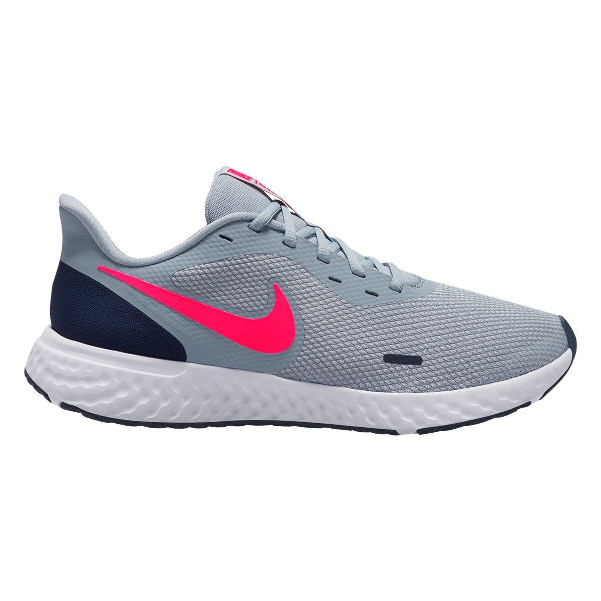 Identidad Sin valor maorí  Tênis Nike Revolution 5 Masculino - Azul e Marinho   Zattini