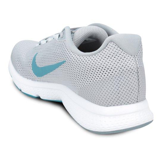 Tênis Nike Runallday Feminino Cinza E Azul