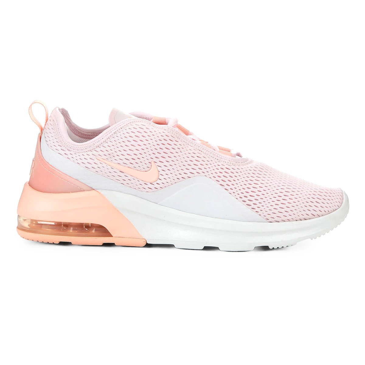 Tênis Nike Wmns Air Max Motion Feminino - Rosa Claro   Zattini