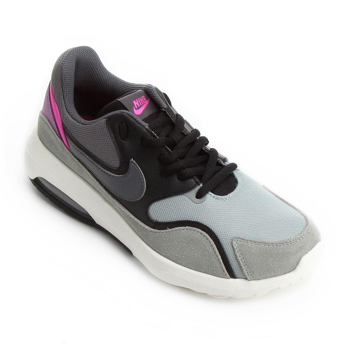 e249059de42 Tênis Nike Wmns Air Max Nostalgic - Preto e Cinza - Compre Agora ...