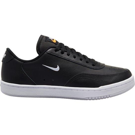 Tênis Nike Wmns Court Vintage Feminino - Preto+Branco