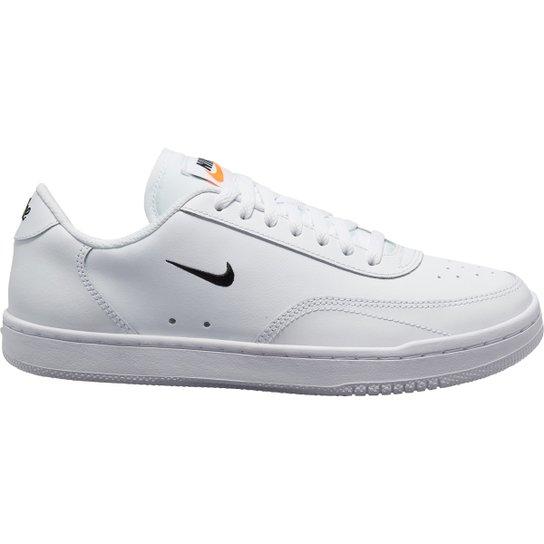 Tênis Nike Wmns Court Vintage Feminino - Branco+Preto