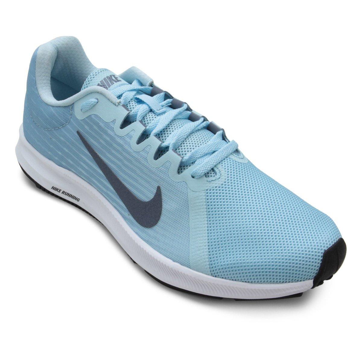 Tênis Nike Wmns Downshifter 8 Feminino Azul Claro