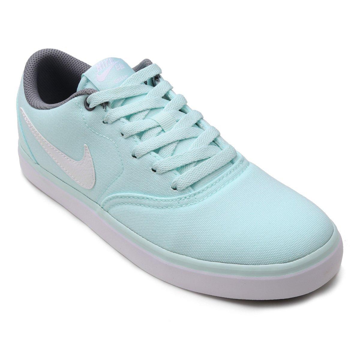 Tênis Nike Wmns Sb Check Solar Cnvs Feminino - Branco - Compre Agora ... e330c3ac2fdfe