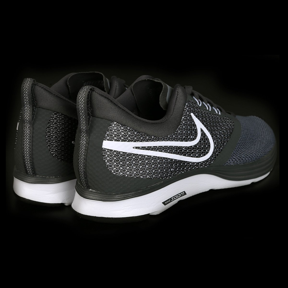 Tênis Nike Zoom Strike Masculino - Cinza e Branco - Compre Agora ... 5406ef2bac514