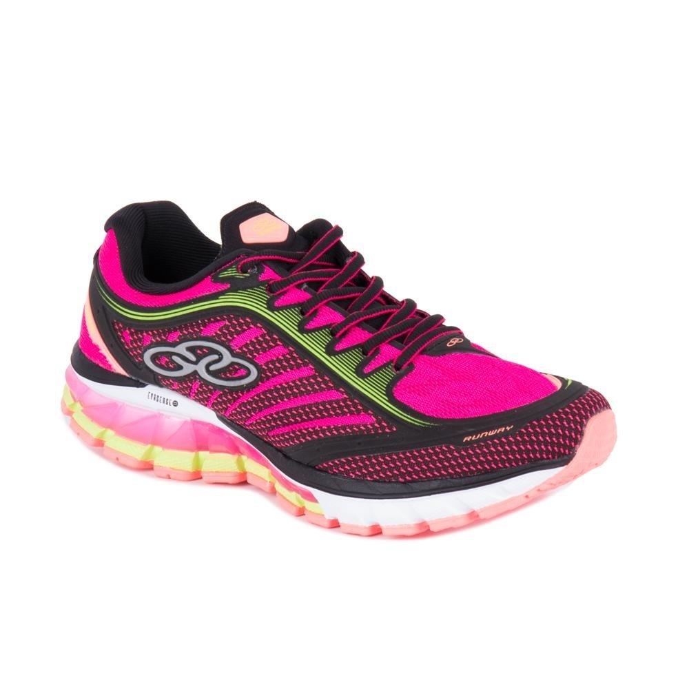 Tênis Preto Tênis Olympikus Pink e Runway Olympikus wq0Px5v0