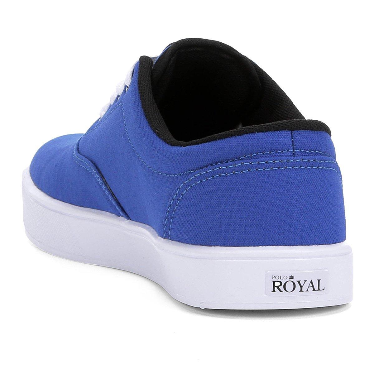 Lona Montecar Royal Royal Tênis Azul Masculino Tênis Polo Polo xAqgUXc