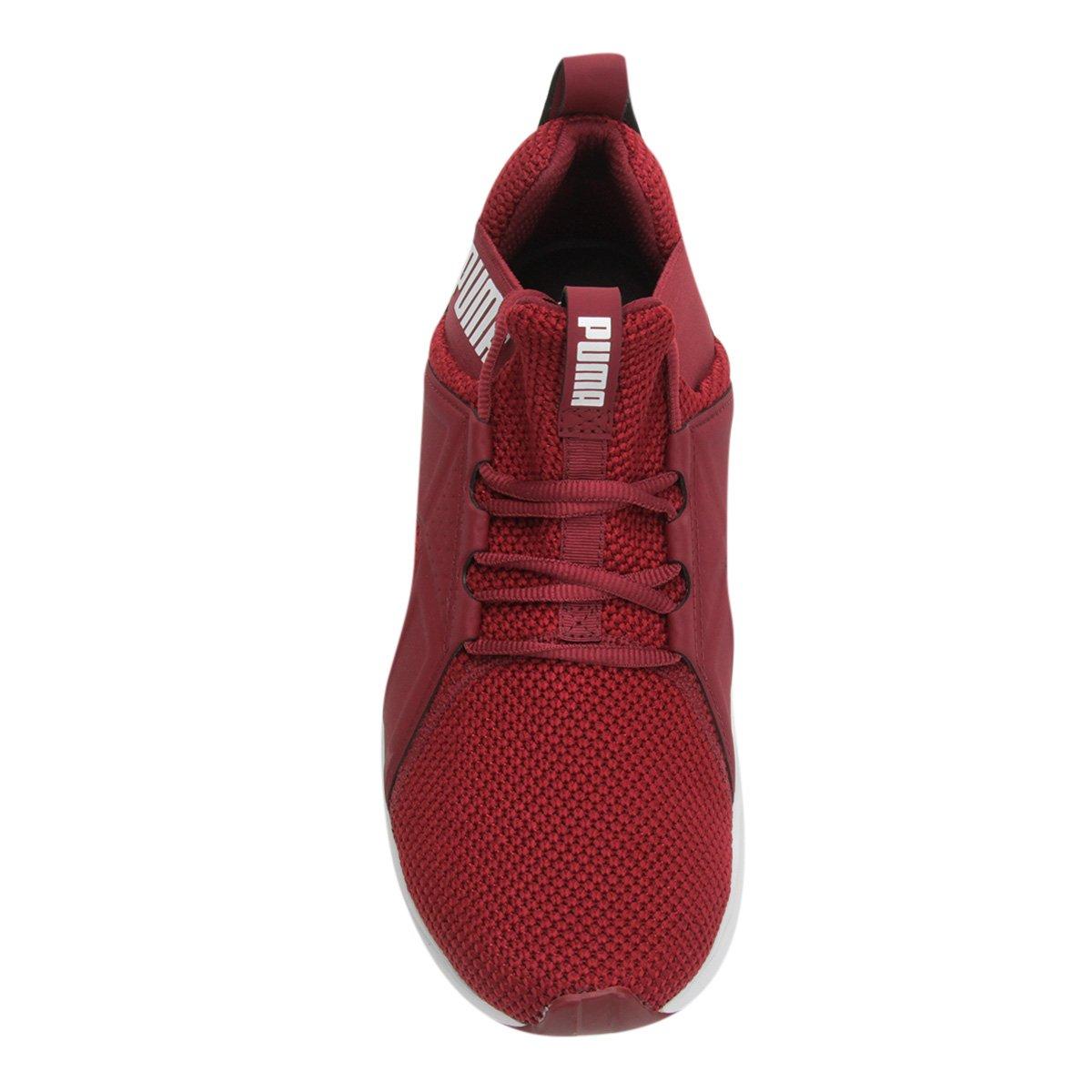 Tênis Puma Enzo Weave Bdp Masculino - Vermelho e Branco - Compre ... 481a1d88a84c1