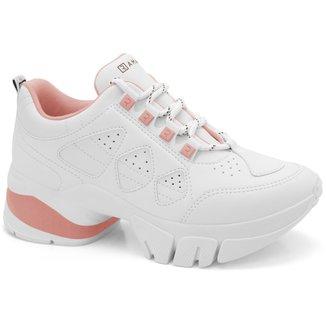 Tênis Ramarim Chunky Sneaker Couro Feminino