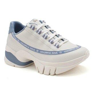 Tênis Ramarim Chunky Sneaker Flatform ColorFul Feminino