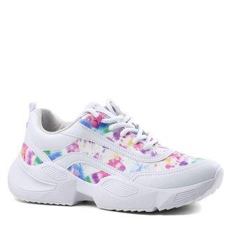 Tênis Ramarim Sneaker Casual Tie-Dye Feminino