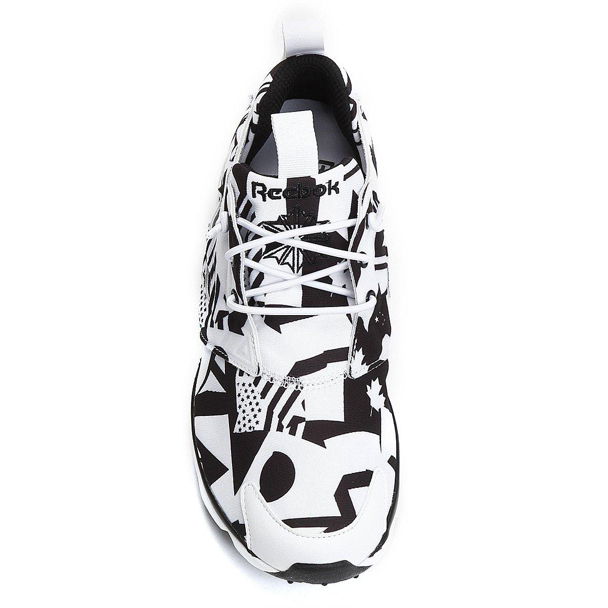 Tênis Reebok Furylite Graphic - Preto e Branco - Compre Agora  19fe68a1482c2