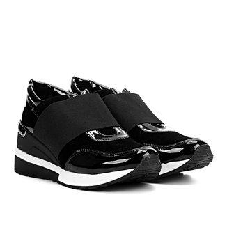 Tênis Santa Lolla Sneaker Elástico Verniz Feminino