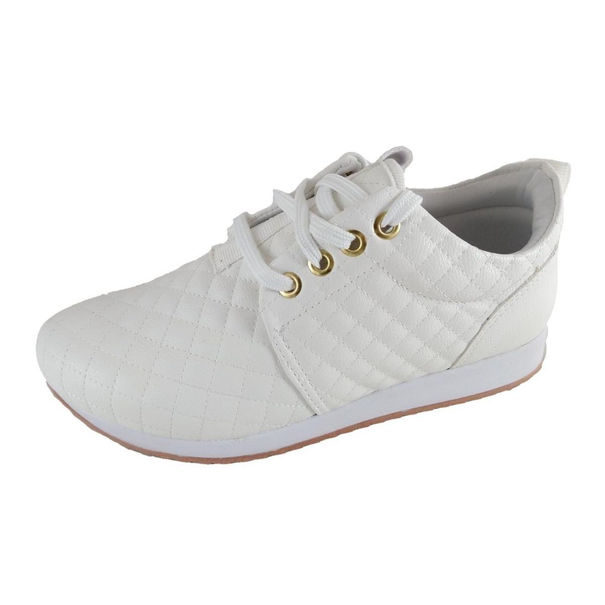 Tênis SapatoWeb Feminino Branco Tênis Confort SapatoWeb Erwx6qE