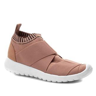Tênis Shoestock Knit Elástico Feminino