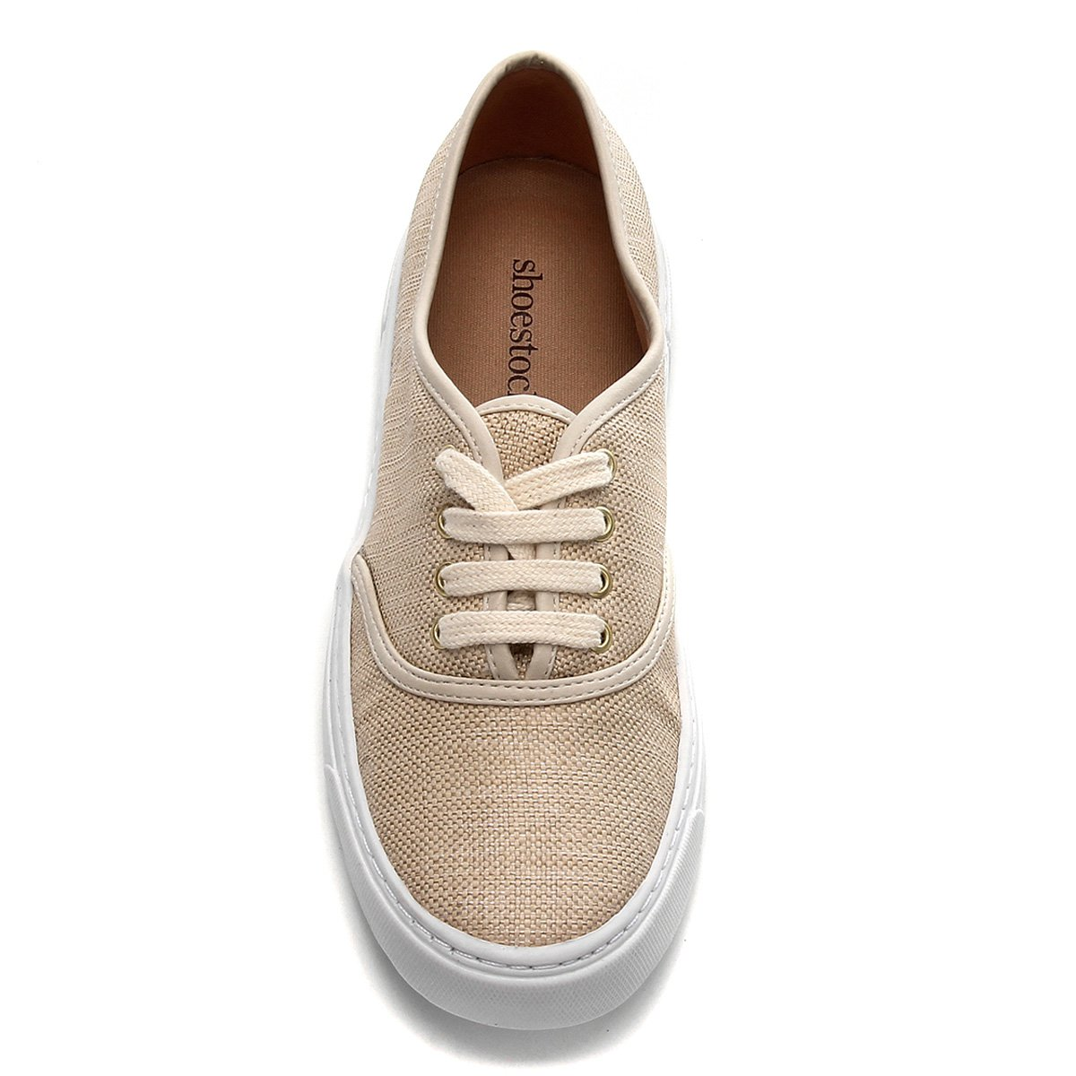 Tênis Shoestock Natural Sneaker Feminino - Areia 9q2K2