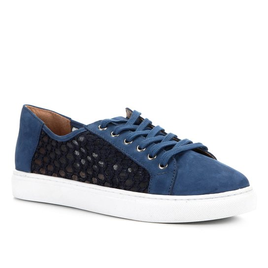Tênis Shoestock Tricotrip Color - Azul