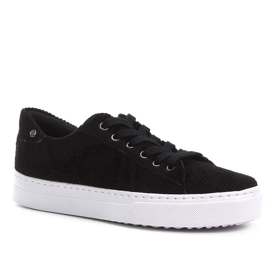 Tênis Shoestock Velvet Feminino - Preto