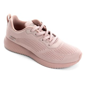 Tênis Skechers Bobs Squad Tough Talk Feminino