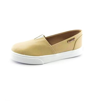 Tênis Slip On Quality Shoes  Courino Feminino Courino