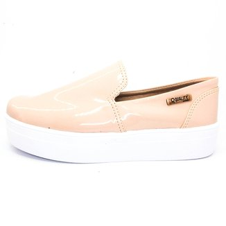 Tênis Slip On Quality Shoes Flatform Feminino