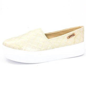 Tênis Slip On Quality Shoes Flatform Feminino