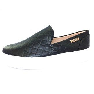 Tênis  Slip On Quality Shoes Flatform  Matelassê Feminino