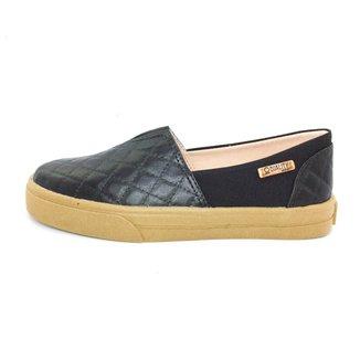 Tênis Slip On Quality Shoes  Matelassê  Feminino