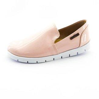 Tênis Slip On Quality Shoes Tratorado Verniz  Feminino