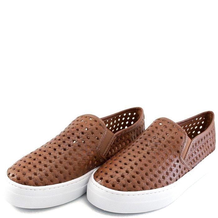 Vazado Show Slip Sapato Tenis Caramelo Tressê On Tenis Slip nwCp0qxax