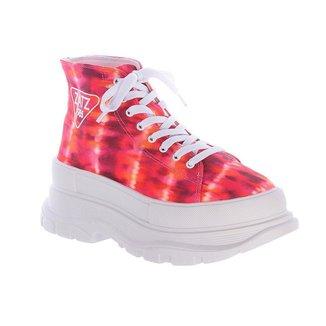 Tênis Sneaker 80S Tie Dye Hot Damannu Shoes Feminino