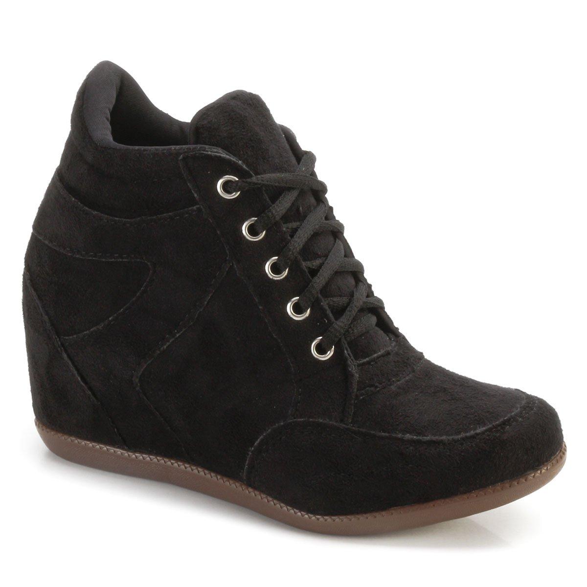 Lucia Tênis Sneaker Tênis 2001 Ana Preto Sneaker xIx7ST