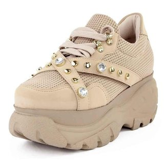 Tênis Sneaker Buffallo Chunky Pedrarias Feminino