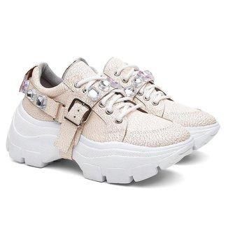 Tênis Sneaker Dad Stone Vicerinne Casual Conforto Feminino