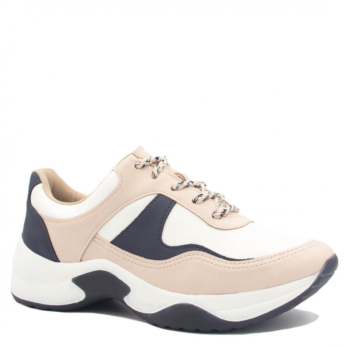 c9b9330da Tênis Sneaker Dakota Chunky Recortes Feminino - Compre Agora | Zattini
