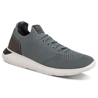 Tênis Sneaker Ferracini Elektra Masculino Chumbo - 9248-572C
