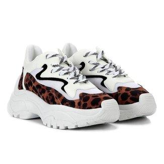 Tênis Sneaker Penny Onça Damannu Shoes Feminino