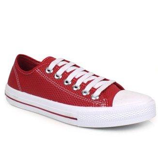 Tênis Tag Shoes Feminino Lona Furadinho