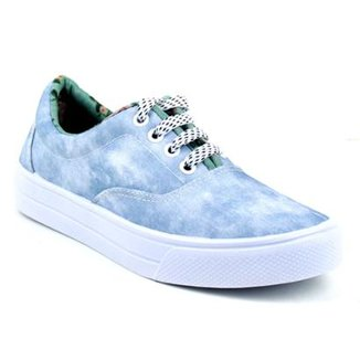 Tenis Tag Shoes Jeans Feminino