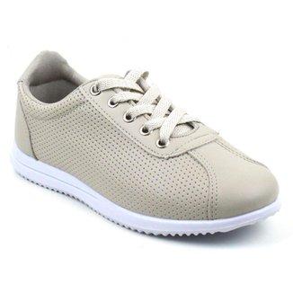 Tênis Tag Shoes Lasercut Napa Macio Leve Conforto Feminino