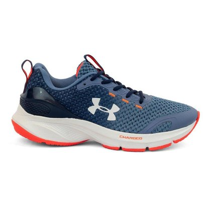Tenis Under Armour Charged Prompt - Azul+branco