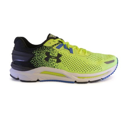 Tenis Under Armour Charged Spread Knit Masculino - Amarelo+preto